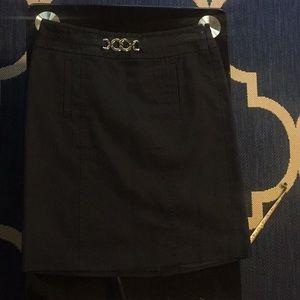 Ann Taylor Navy Blue Skirt size 4p NWOT